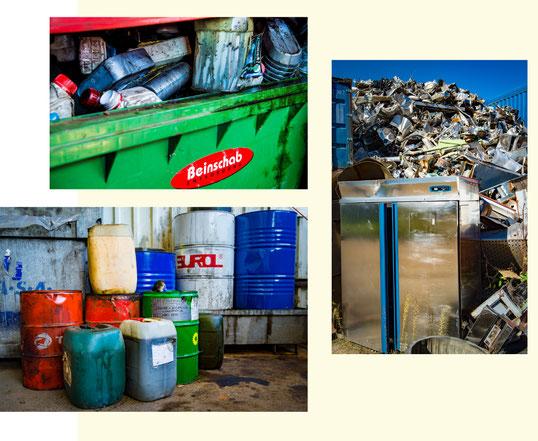 Altstoffsammelzentrum Fohnsdorf bzw. Recyclinghof in Fohnsdorf: Elektrogeräte und Problemstoffe entsorgen