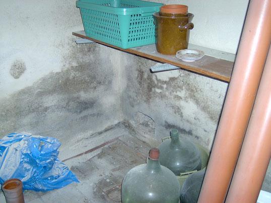 Wassereintritte von außen können zu Schimmel im Keller führen.