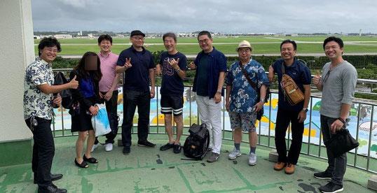 2019年沖縄不動産ツアーの集合写真