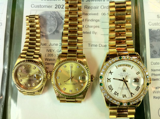 HOW ABOUT A SOLID GOLD ROLEX  ! ! !