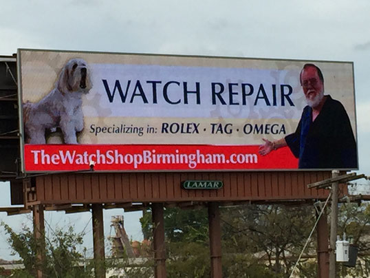 THIS WAS OUR SECOND BILLBOARD WITH BUDDY---