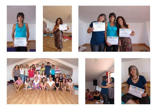 Fotos de la formación Rebirthing 2013-2014