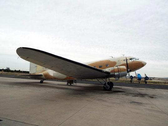 Douglas C-47 Skytrain Dakota. This plane is only an example of the plane type.