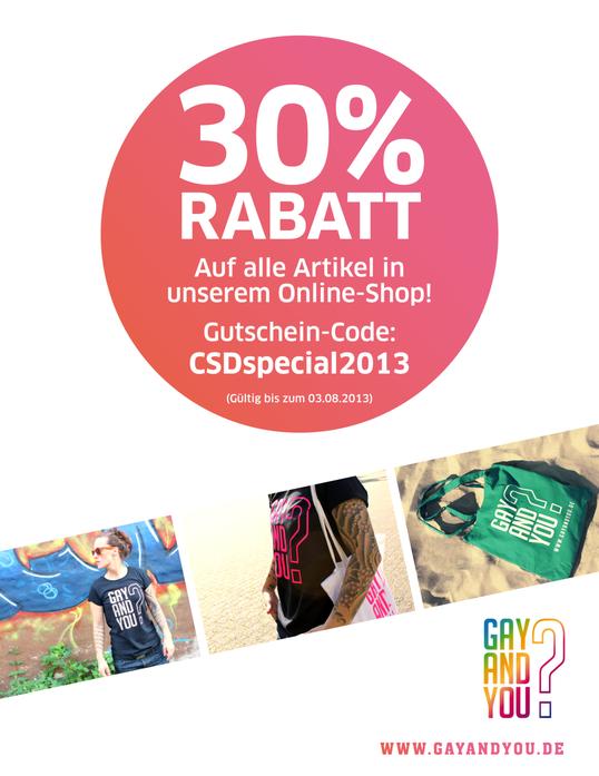 CSD Special Gutscheincode