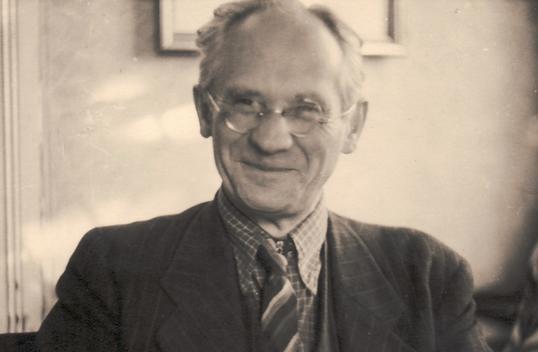 Hanns Heinen im Jahre 1945 als Bürgermeister von Kreuzthal-Eisenbach bei Kempten