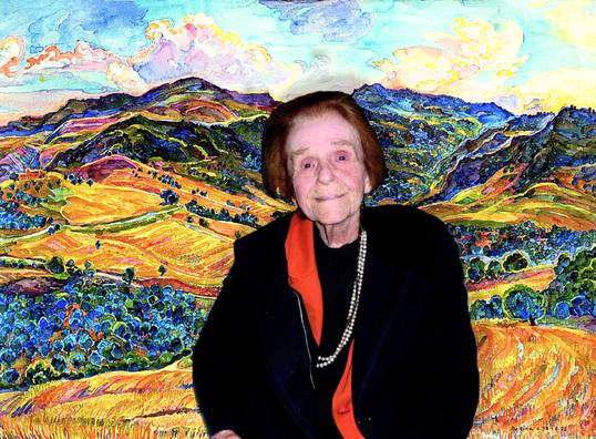 Bettina Heinen-Ayech en janvier 2020, quelques mois avant sa mort
