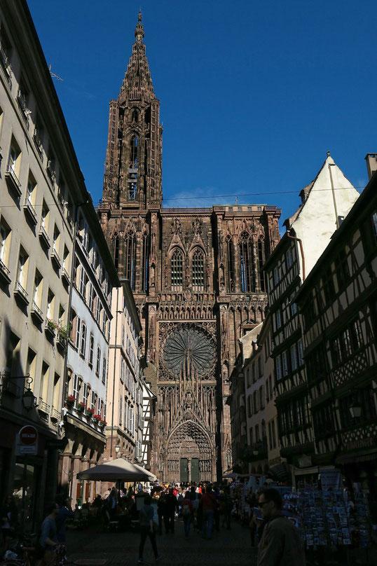 Strassburg - Münster - Westfassade