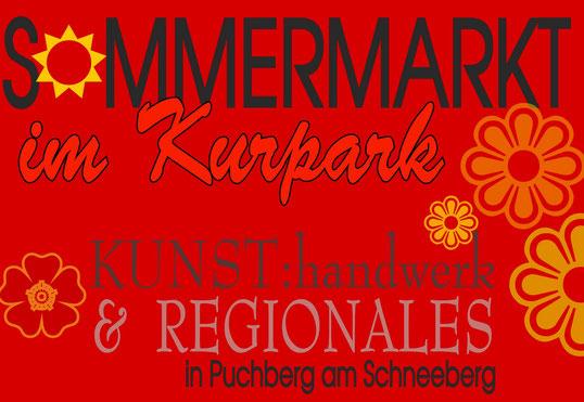 kunsthandwerk und regionales im puchberger kurpark