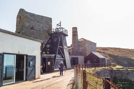 Levant Mine, Sant Just, Cornwall, England, Industriekultur, Industrie, Zechen, Bergbau, Zinn