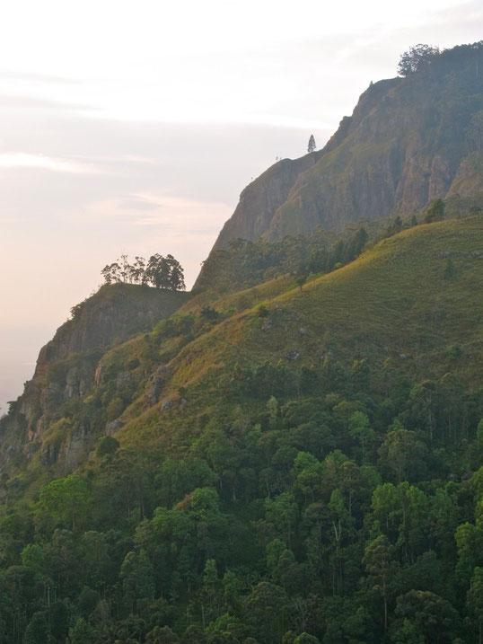 Elle Rock trail hike Wanderung Sri Lanka