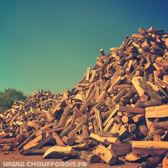 volume de bois de chauffage pour l'hiver