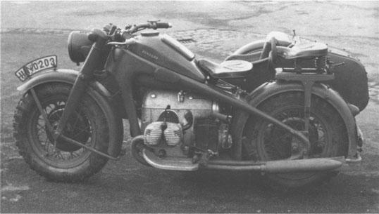 K700. Prototype militaire jamais produit.