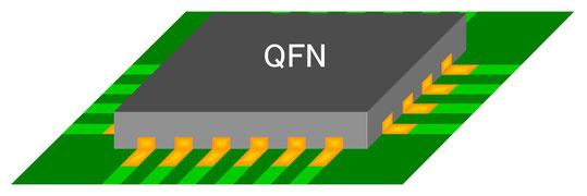QFN実装状態