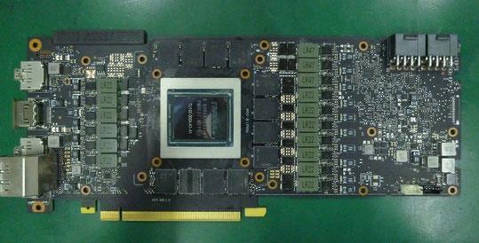 MSI GeForce RTX 2080 Ti SEA HAWK X 基板