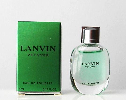 LANVIN : VETYVER EAU DE TOILETTE POUR HOMME 5 ML