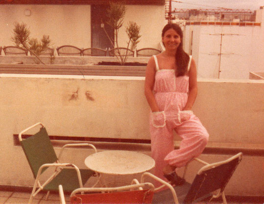 En la terraza del hotel. Las Palmas. Pedro. P. Privada.