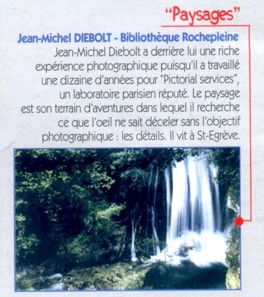 Mois de la photo - 6 au 27 novembre 1998
