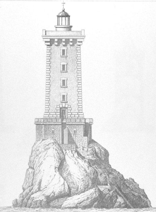 Façade Est, plan de 1871