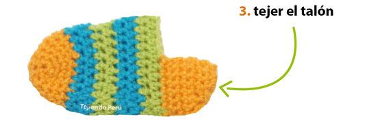 Medias Para Niños Tejidas A Crochet Tejiendo Perú
