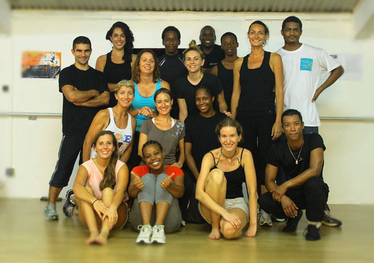 STAGE SELF DEFENSE FEMININES GUADELOUPE OCTOBRE 2014