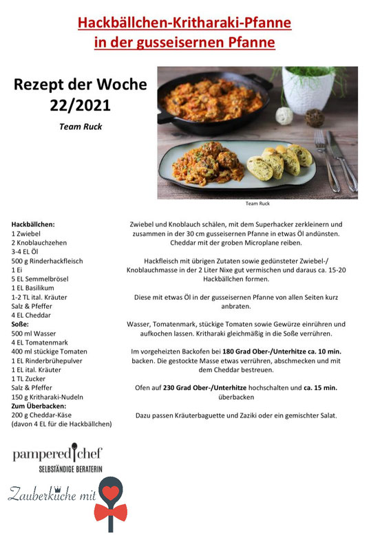 Pampered Chef Rezepte