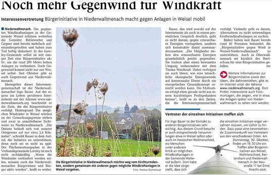 Rhein-Lahn-Zeitung v. 29.10.2014