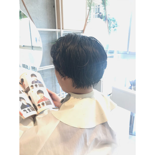横浜・石川町、美容室Grantus,ヘアスタイル、ショート、ツーブロック、メンズヘア
