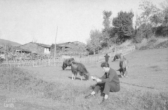 Joven carta prado Lamela-Santa Cubicia Noviembre 1958