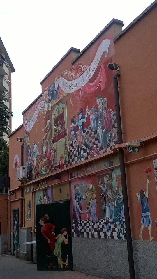 Casa di Alex in via Moncalieri a Milano.