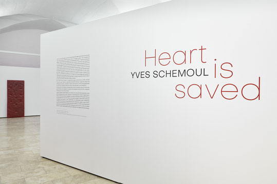 "Yves Schemoul, ""Heart is saved"", Musée de l'Emperi, Salon de Provence © jc Lett"