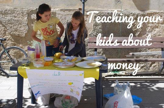 kids learn, money habits, kids save money, kids earn,