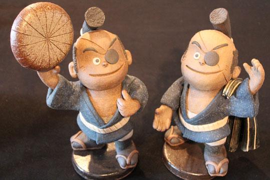 森の石松のキャラクター人形