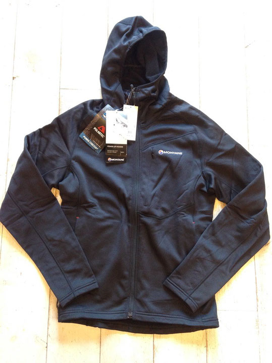 MONTANE(モンテイン) POWER UP HOODY(Black) ¥21,600(税込)