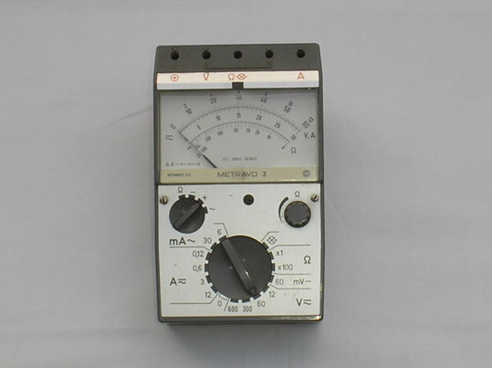 Metrawatt  Multimeter Typ. Metravo 3