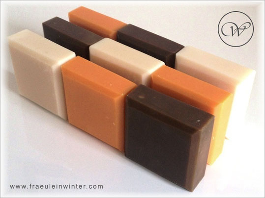Handmade soaps by Fräulein Winter