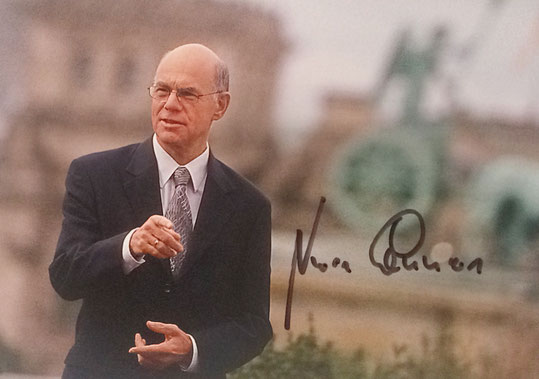 Autograph Norbert Lammert Autogramm