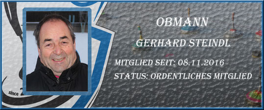 Obmann Gerhard Steindl