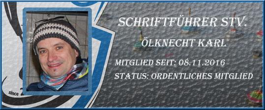 Schriftführer Stv. Karl Ölknecht