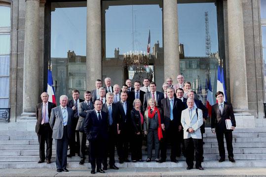 le 9 septembre 2010 la Droite Populaire est reçu par le Président de la République, Nicolas Sarkozy