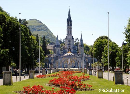 Photo des sanctuaires de Lourdes