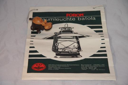 Verkaufstüte für Batola Tischlaterne