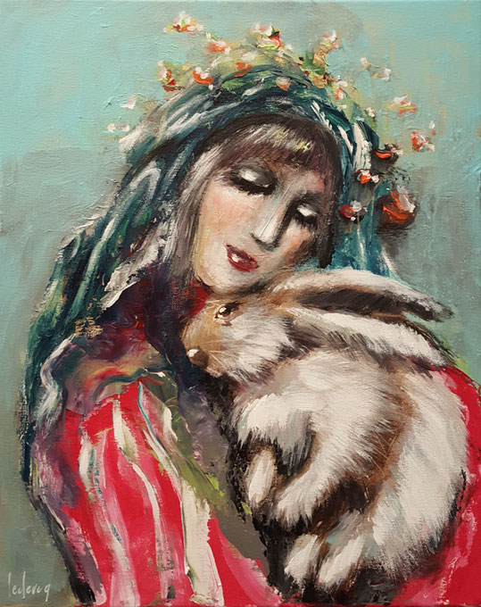 bernadette leclercq artiste peintre tours