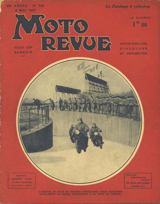08 mai 1937. 2 pages. Essai de la K800 chez Latscha.