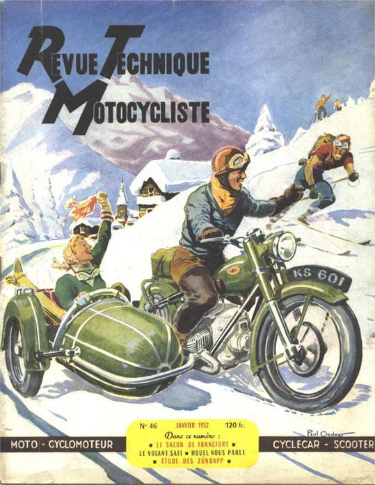 RTM N°46, 01-1952. 12 pages. Etude sur les modèles avant guerre.