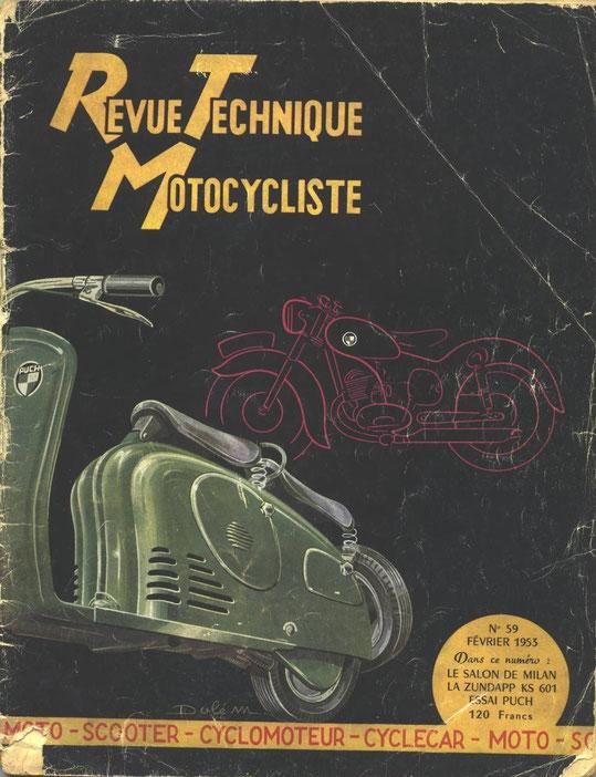 RTM fevrier 1953, La KS601. 20 pages. Indispensable pour travailler sur le moteur.