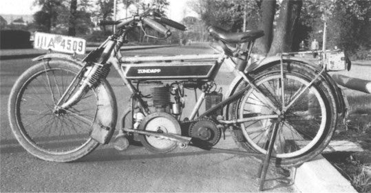 Z249 (K249), 1923-1924 (1924-1925). 249 cm3. Numéro 11001 à 13500