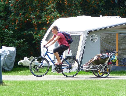 Oertzewinkel Camping - für Radfahrer ideal