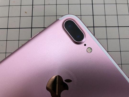 iPhone7プラス 背面カメラレンズのみ交換 奈良橿原店