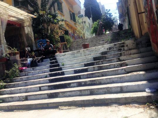 Treppen in Ashrafieh