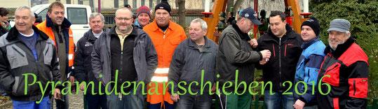 Bild: Teichler Wünschendorf Anschieben 2016